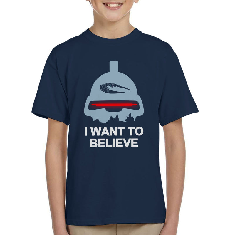 Believe In Toasters Battlestar Galactica Kid's T-Shirt by Karlangas - Cloud City 7