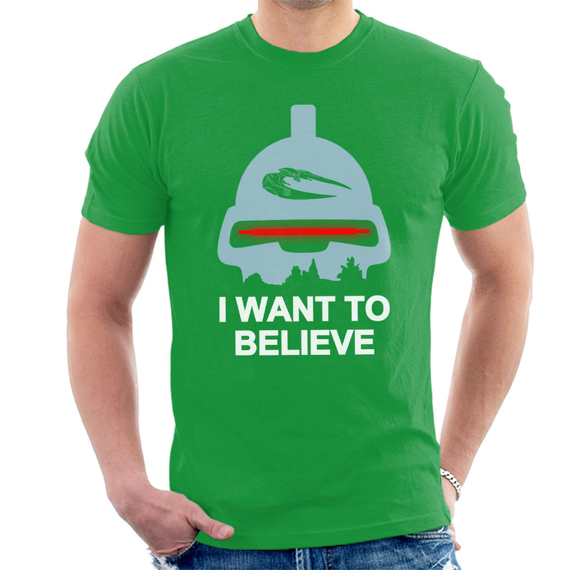Believe In Toasters Battlestar Galactica Men's T-Shirt by Karlangas - Cloud City 7