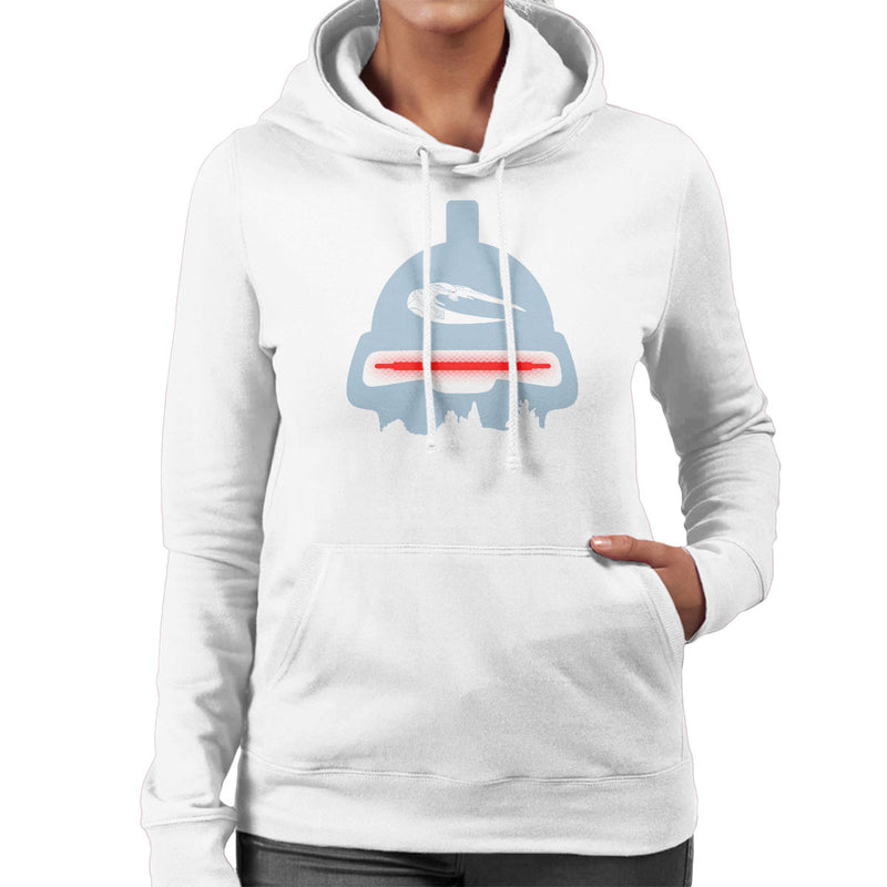 Believe In Toasters Battlestar Galactica Women's Hooded Sweatshirt by Karlangas - Cloud City 7