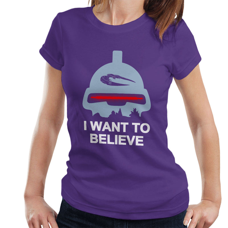 Believe In Toasters Battlestar Galactica Women's T-Shirt by Karlangas - Cloud City 7