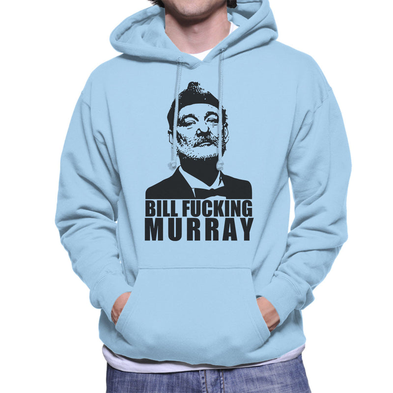 Bill Fucking Murray Men's Hooded Sweatshirt by Karlangas - Cloud City 7
