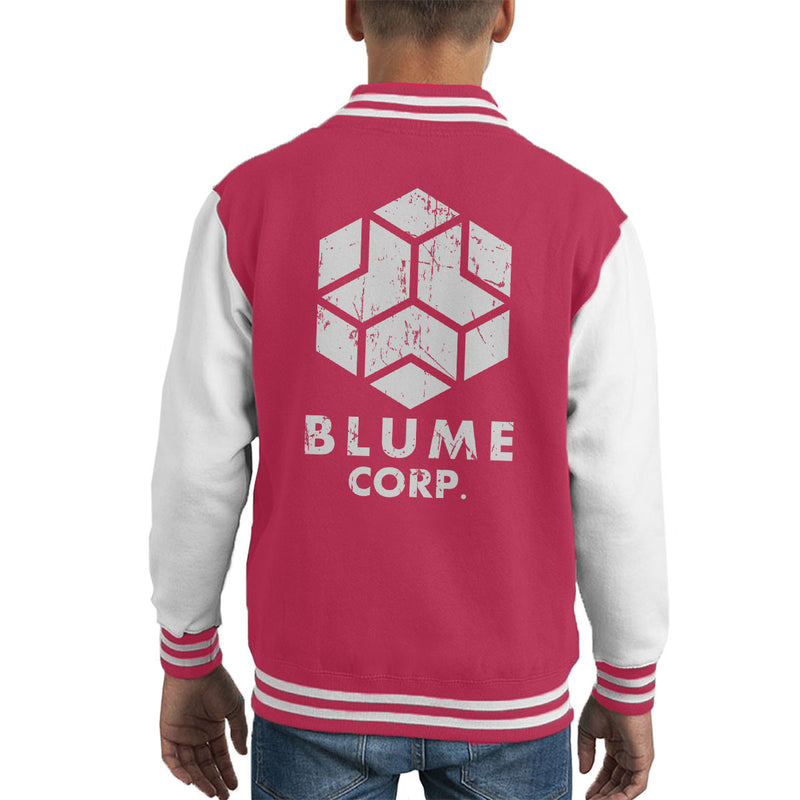 Blume Corp Watchdogs Kid's Varsity Jacket by Karlangas - Cloud City 7