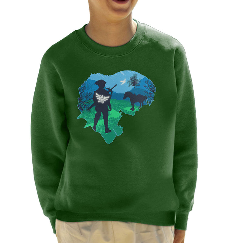 Legendary  Legend of Zelda Nintendo Kid's Sweatshirt