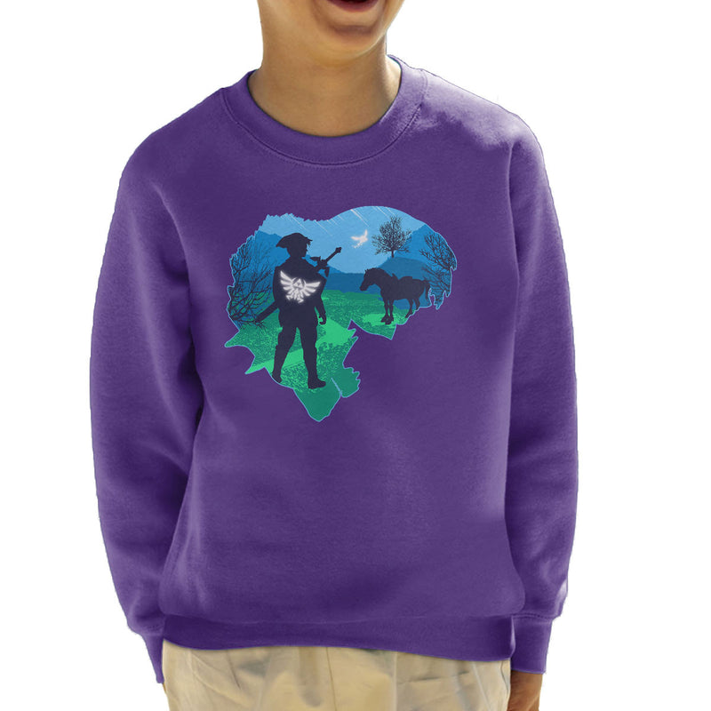 Legendary Legend of Zelda Nintendo Kid's Sweatshirt by Kempo24 - Cloud City 7