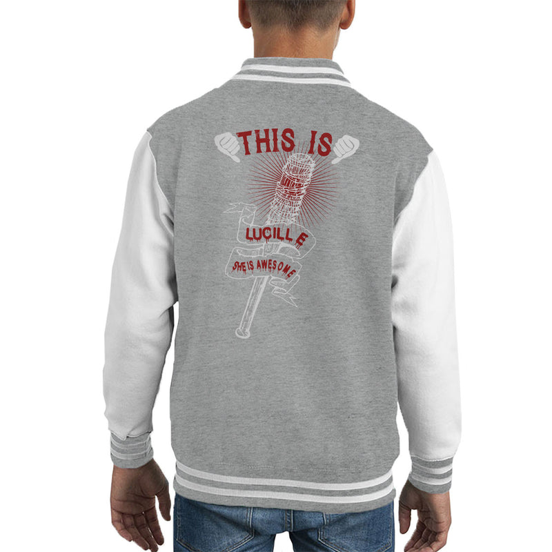 Walking Dead This Is Lucille Kid's Varsity Jacket by happeace - Cloud City 7