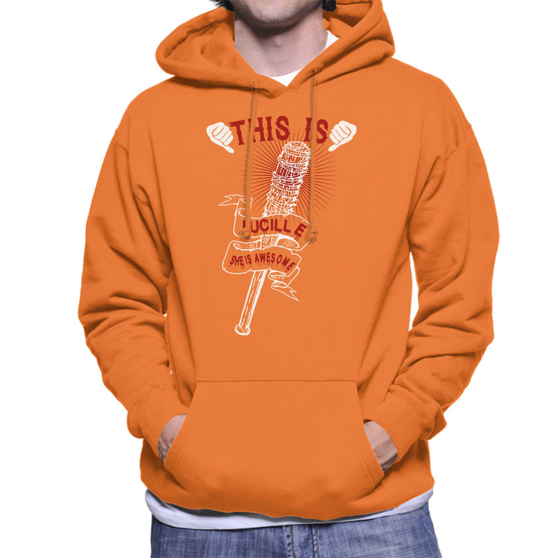 Walking Dead This Is Lucille Men's Hooded Sweatshirt by happeace - Cloud City 7