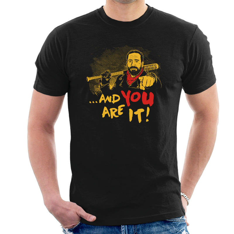 And You Are It Negan Walking Dead Men's T-Shirt by Olipop - Cloud City 7