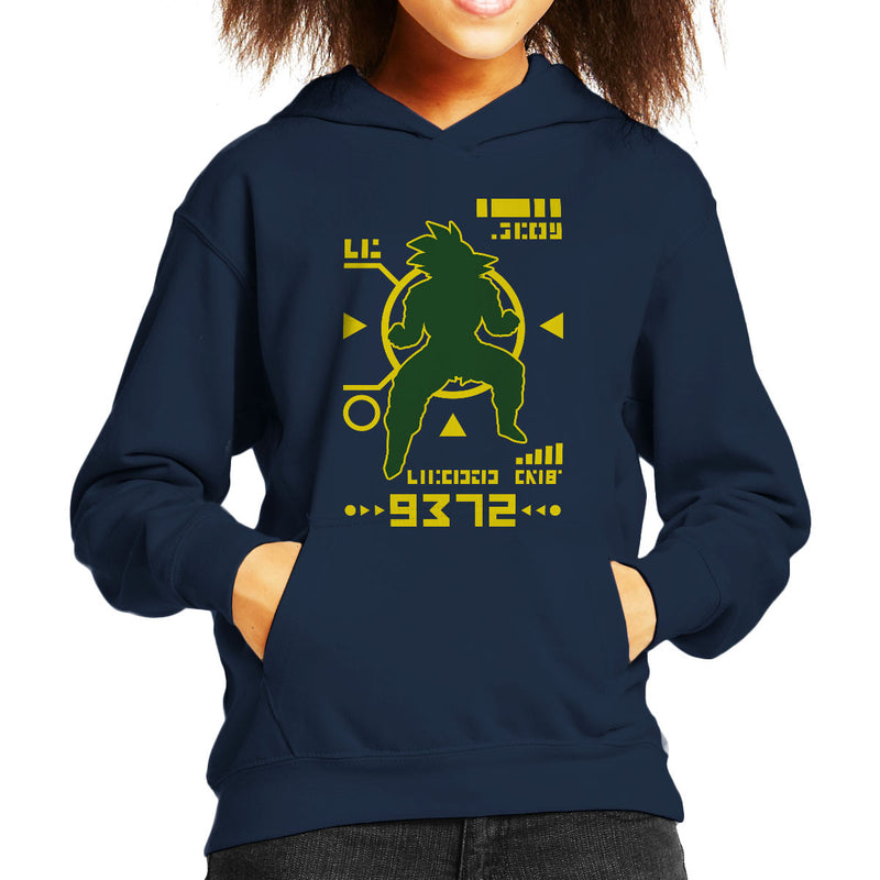 Dragon Ball Z Saiyan Power Over 9000 Kid's Hooded Sweatshirt