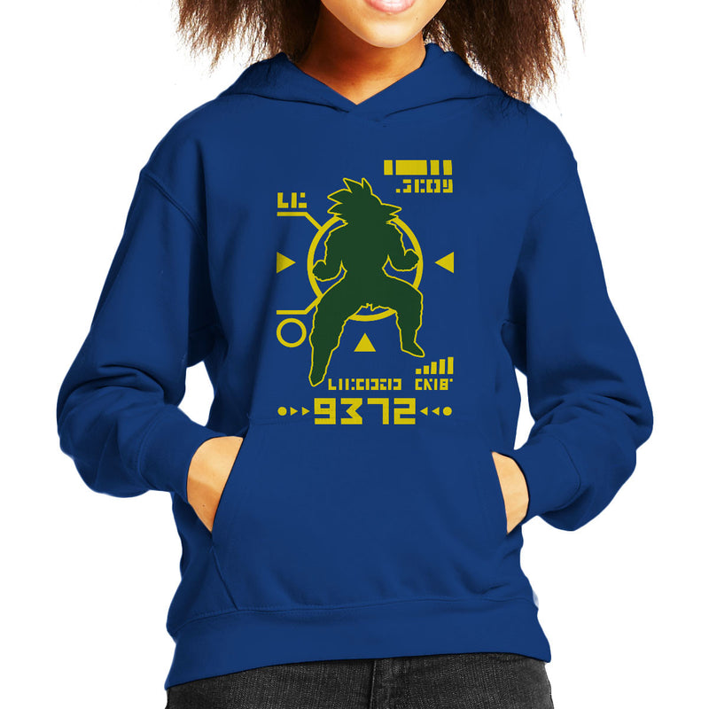 Dragon Ball Z Saiyan Power Over 9000 Kid's Hooded Sweatshirt by Olipop - Cloud City 7