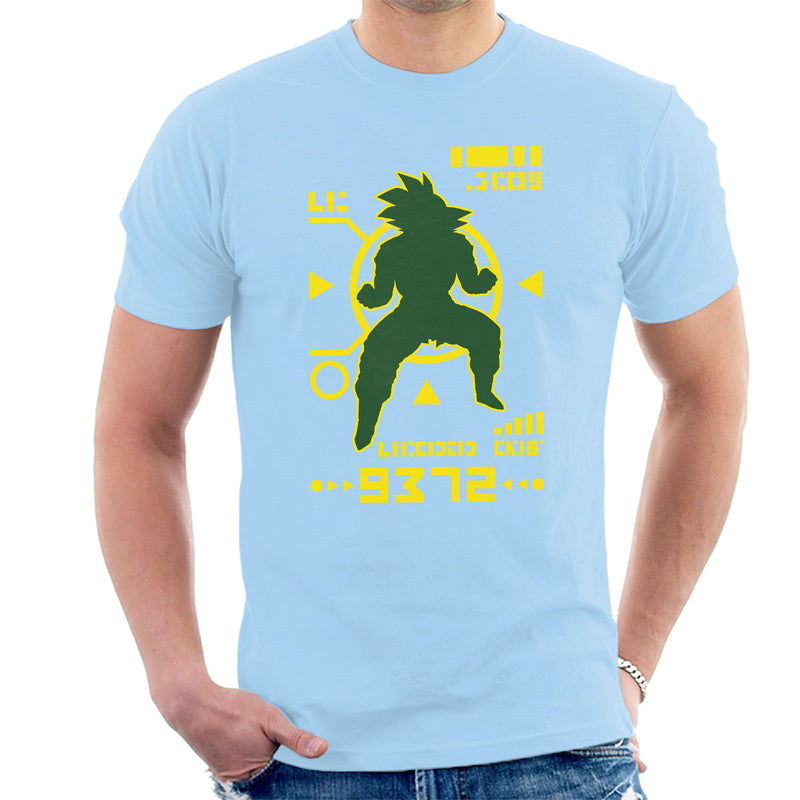 Dragon Ball Z Saiyan Power Over 9000 Men's T-Shirt by Olipop - Cloud City 7