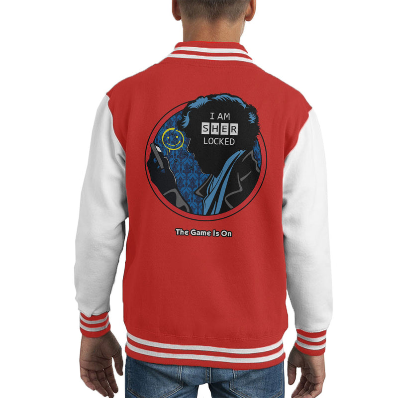 Detective Sherlocked Sherlock Kid's Varsity Jacket by Olipop - Cloud City 7