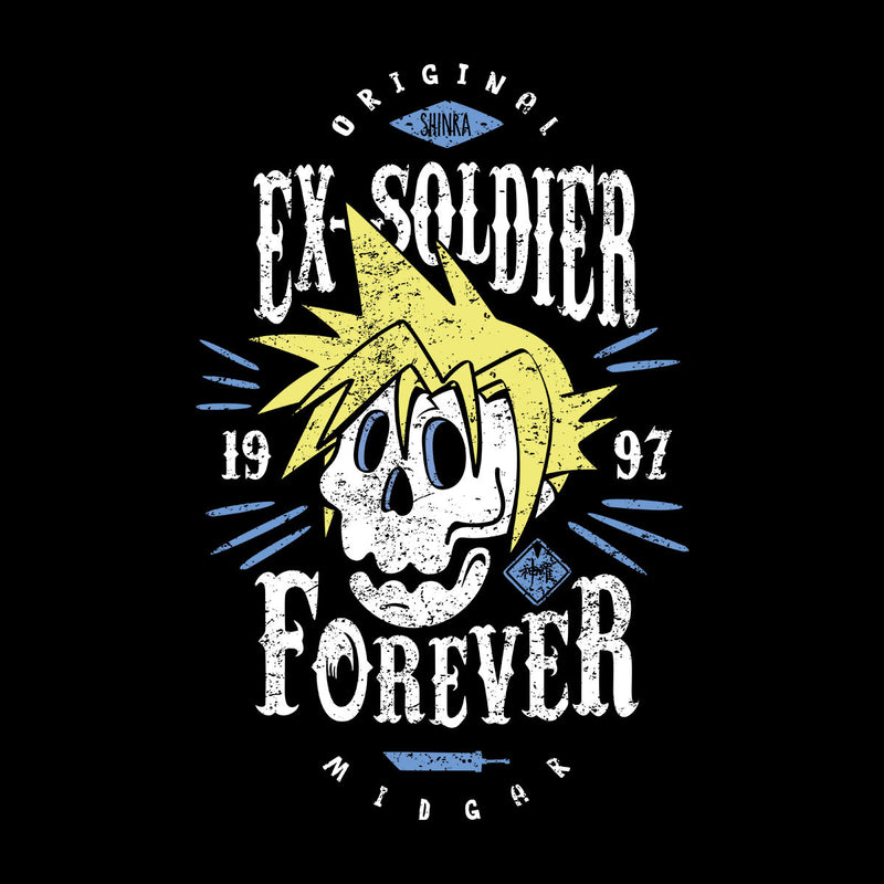 Ex Soldier Forever Cloud Strife Final Fantasy 7