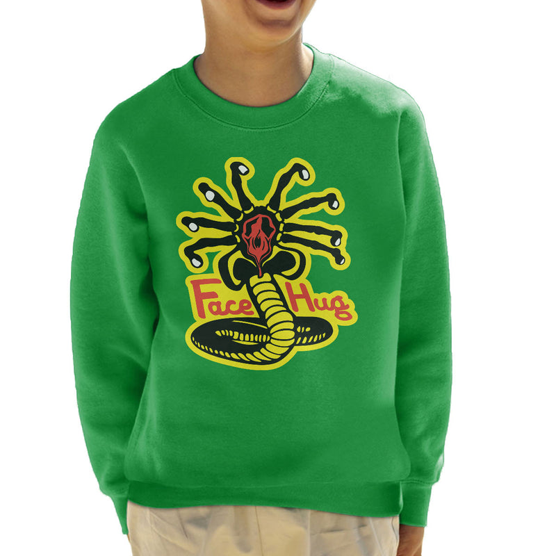 Facehugger Kai Aliens Kid's Sweatshirt by Olipop - Cloud City 7