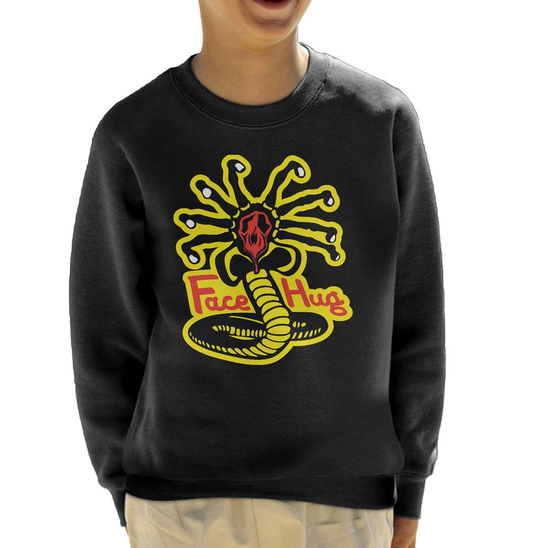 Facehugger Kai Aliens Kid's Sweatshirt
