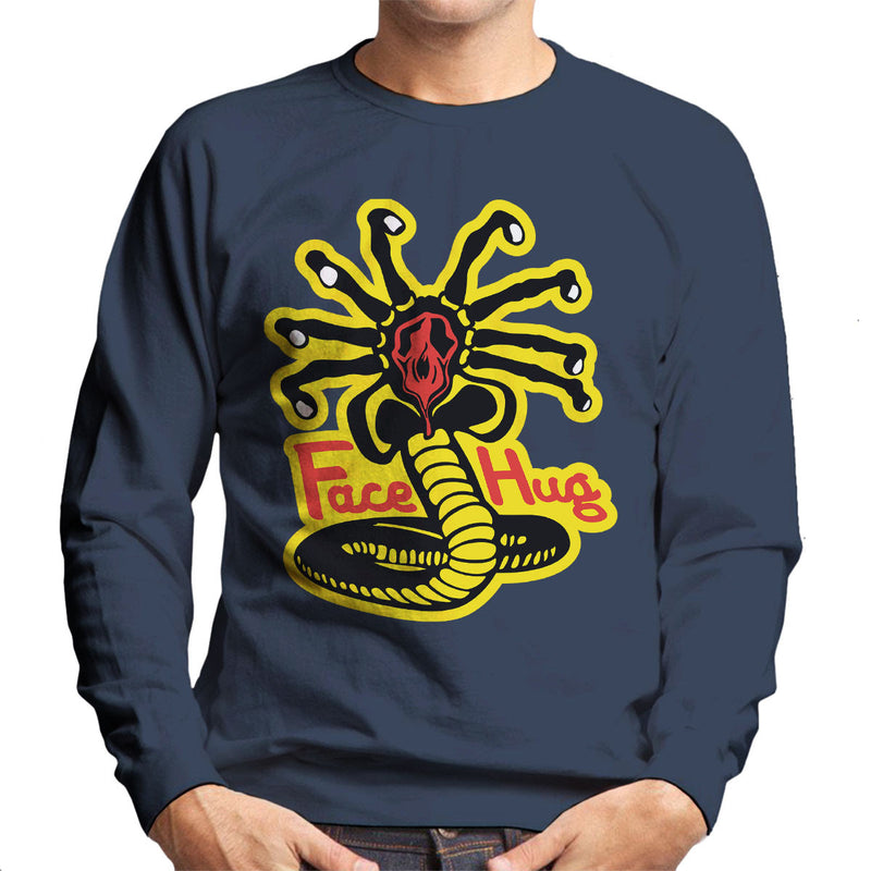 Facehugger Kai Aliens Men's Sweatshirt by Olipop - Cloud City 7
