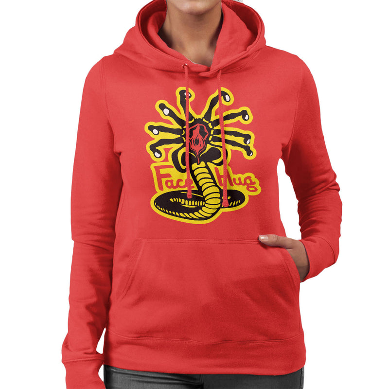 Facehugger Kai Aliens Women's Hooded Sweatshirt by Olipop - Cloud City 7