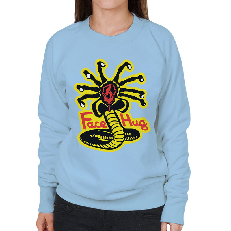 Facehugger Kai Aliens Women's Sweatshirt by Olipop - Cloud City 7