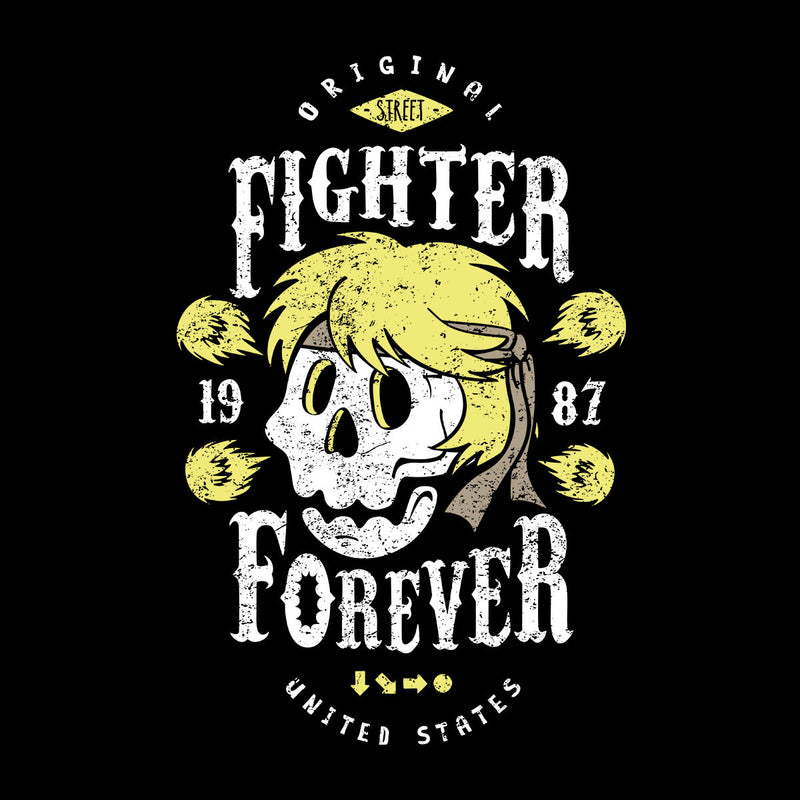 Fighter Forever Ken Masters Street Fighter Women's T-Shirt by Olipop - Cloud City 7