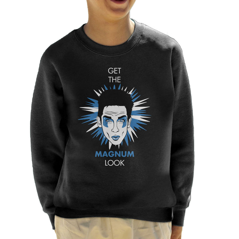 Get The Magnum Look Zoolander Kid's Sweatshirt by Olipop - Cloud City 7