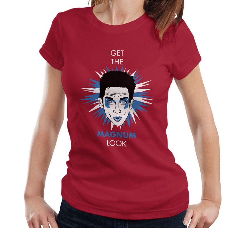 Get The Magnum Look Zoolander Women's T-Shirt by Olipop - Cloud City 7