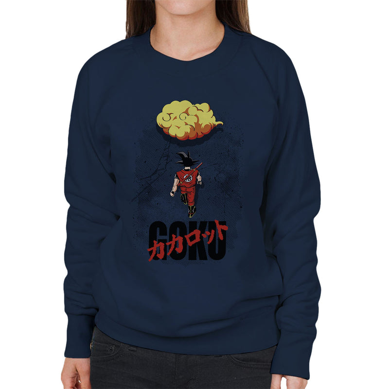 Dragon Ball Z Goku Akira Mashup Women's Sweatshirt by Olipop - Cloud City 7