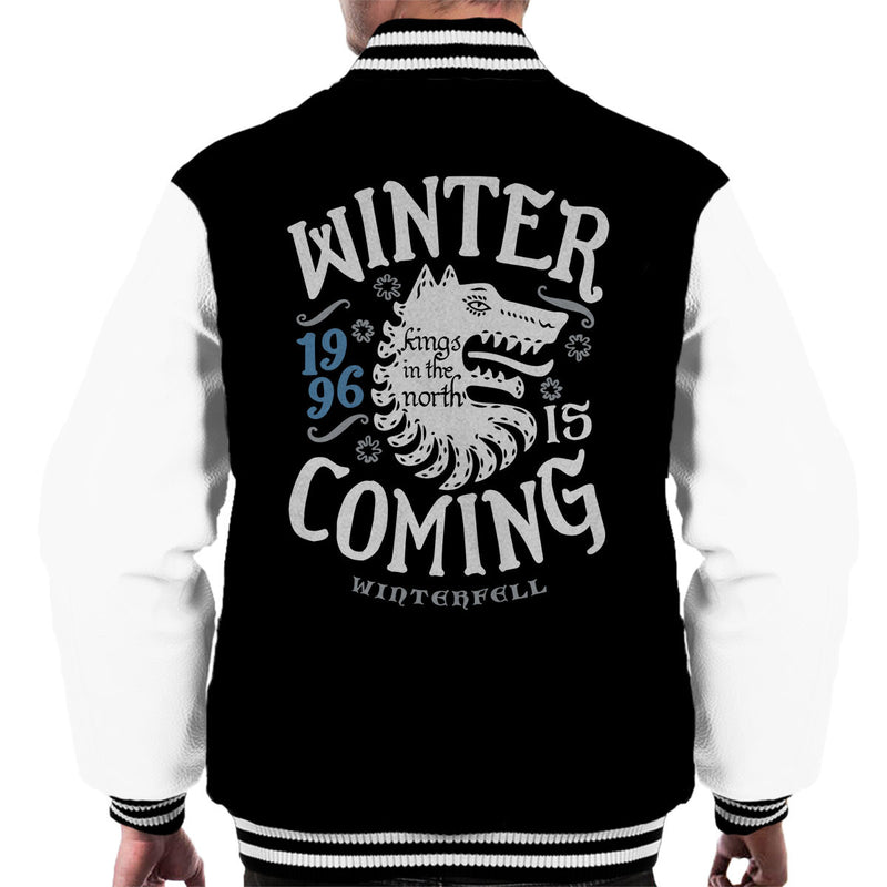 Winter Is Coming Winterfell Stark Game Of Thrones Men's Varsity Jacket
