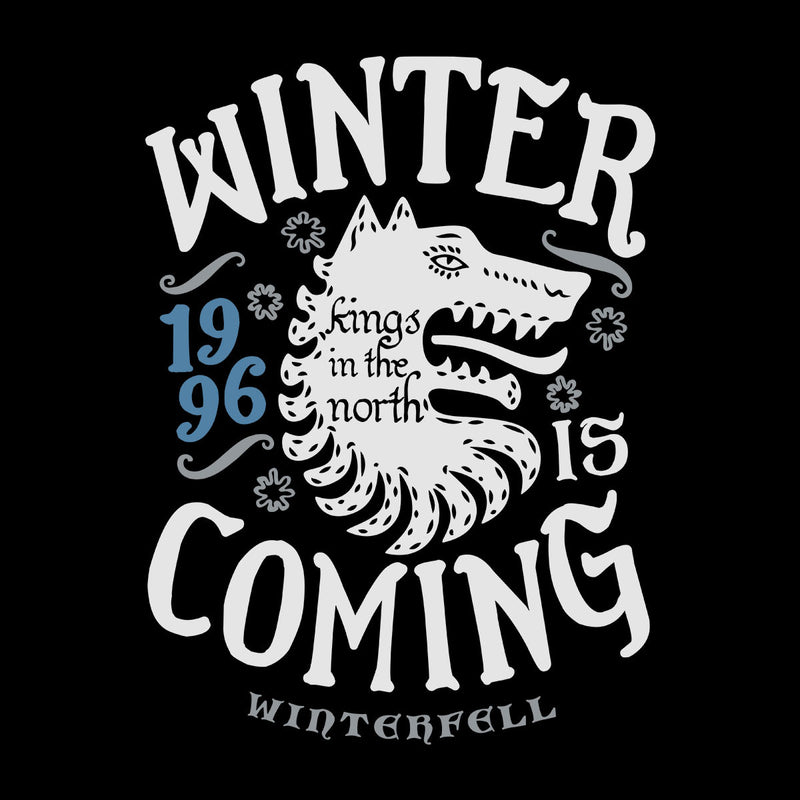 Winter Is Coming Winterfell Stark Game Of Thrones Kid's Hooded Sweatshirt by Olipop - Cloud City 7