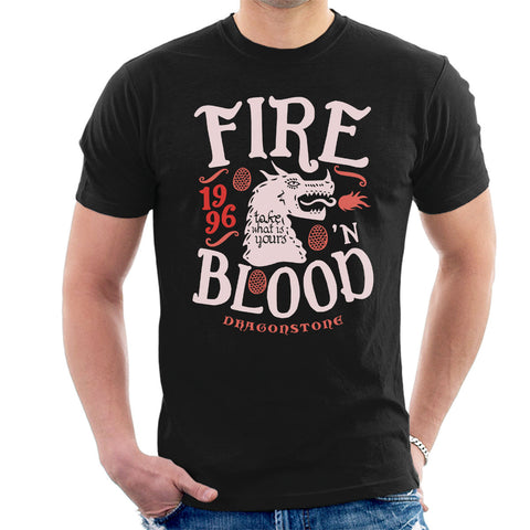Fire And Blood Dragonstone Targaryen Game Of Thrones