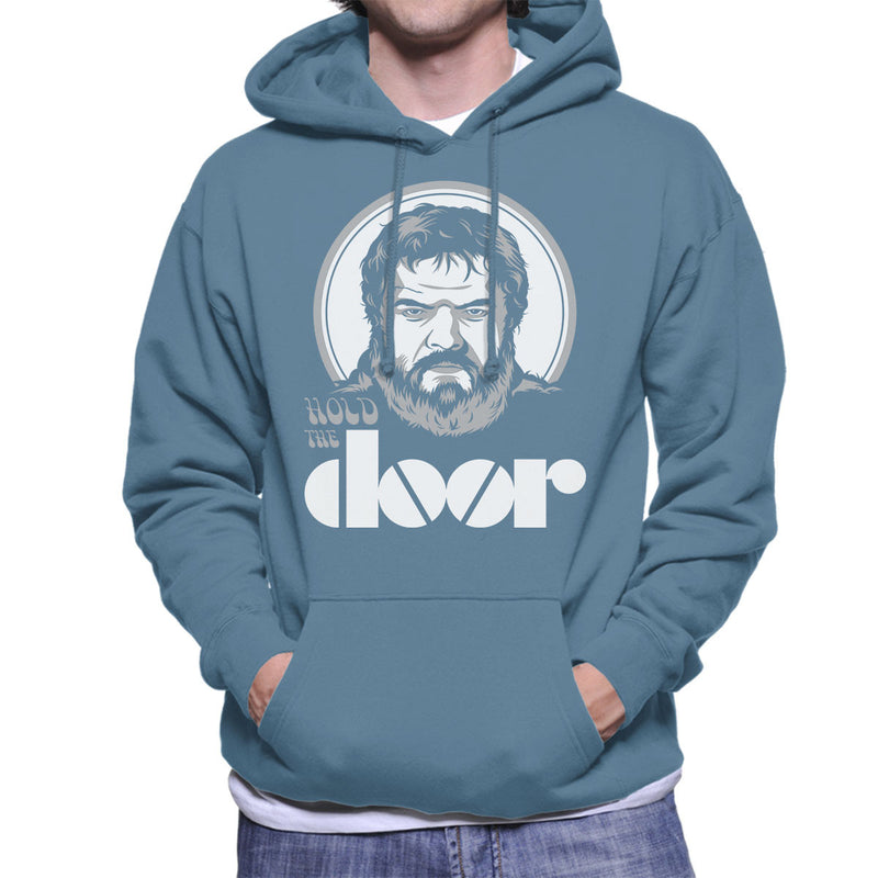 Hodor Hold The Door Jim Morrison Game Of Thrones Men's Hooded Sweatshirt by Olipop - Cloud City 7