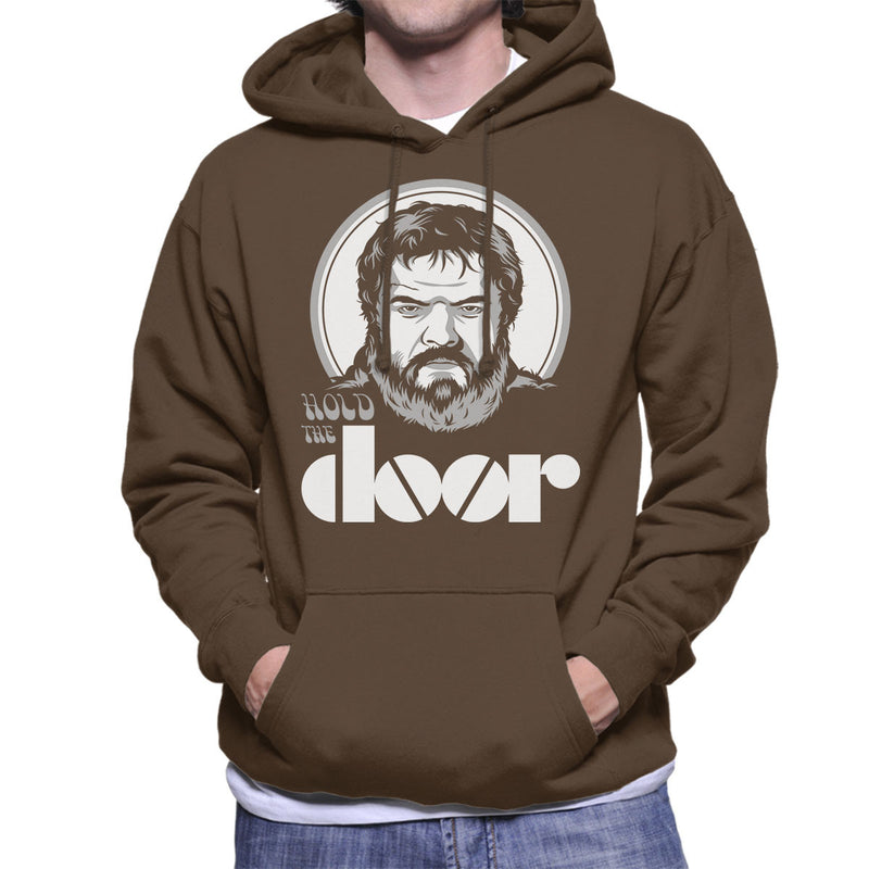 Hodor Hold The Door Jim Morrison Game Of Thrones Men's Hooded Sweatshirt