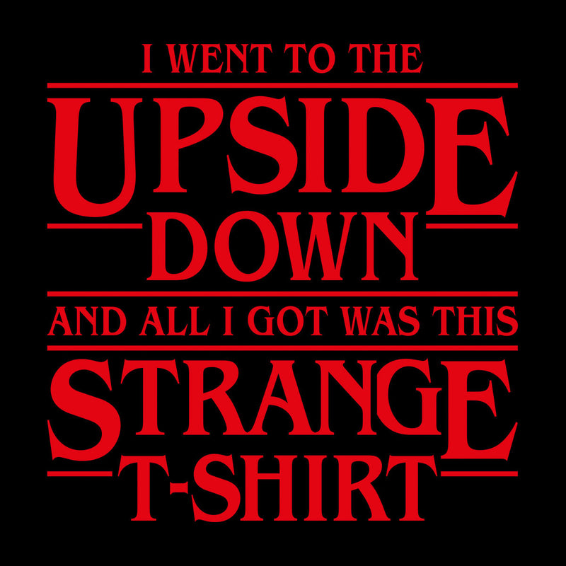 I Went To The Upside Down Stranger Things Women's Vest by Olipop - Cloud City 7