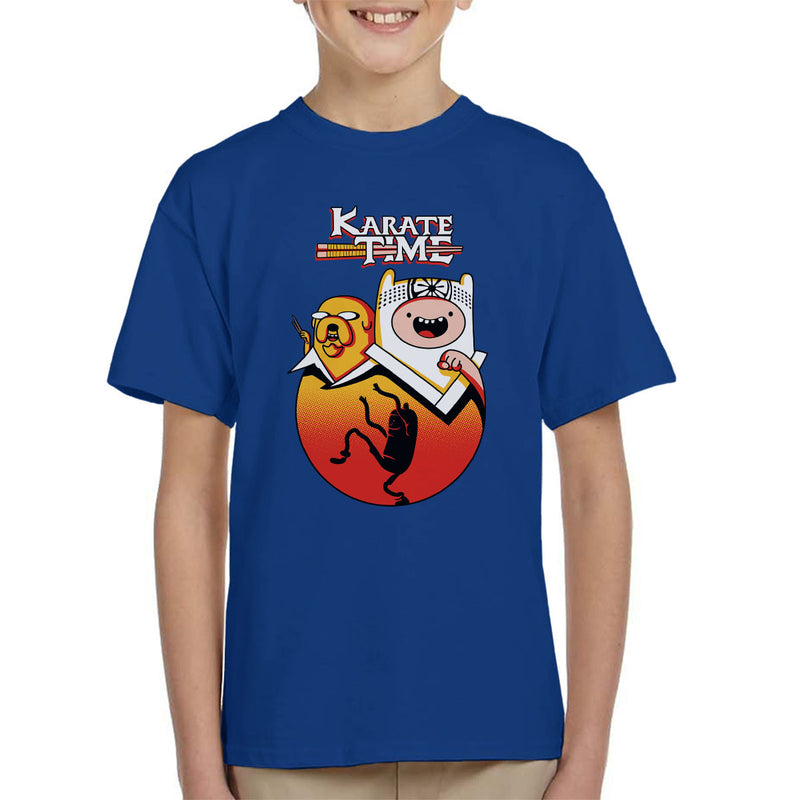 Karate Time Adventure Kid Kid's T-Shirt