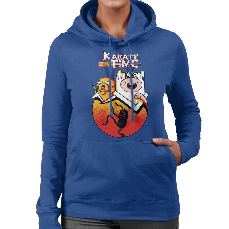 Karate Time Adventure Kid Women's Hooded Sweatshirt