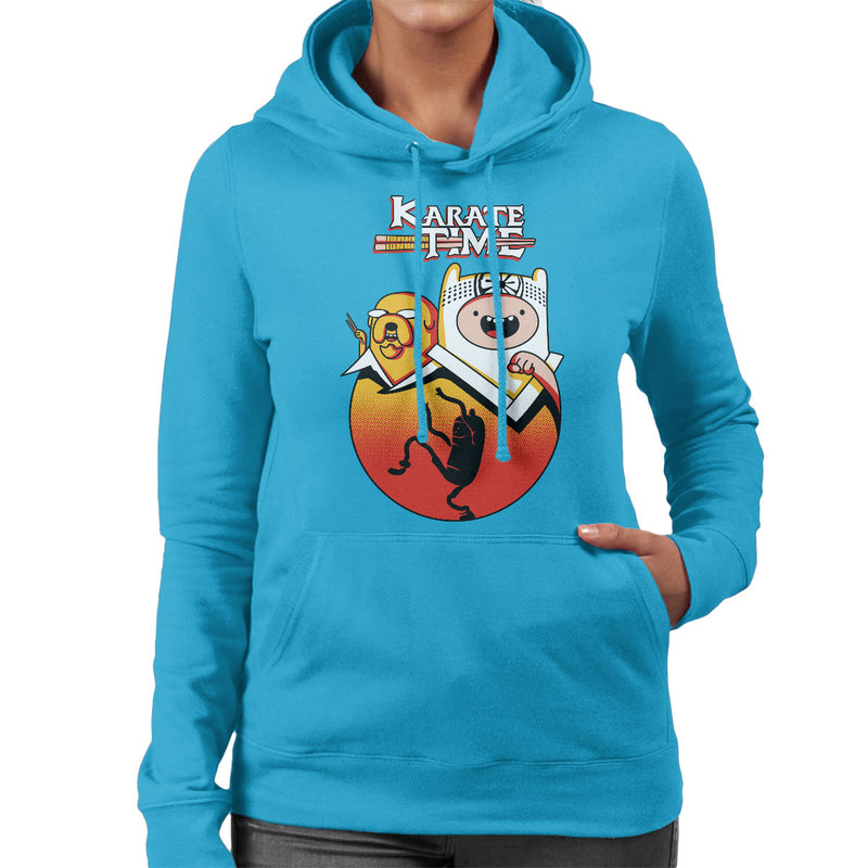 Karate Time Adventure Kid Women's Hooded Sweatshirt by Olipop - Cloud City 7