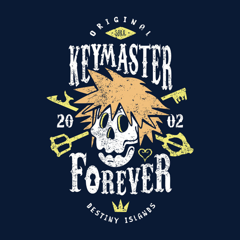 Key Master Forever Sora Kingdom Hearts Kid's Hooded Sweatshirt by Olipop - Cloud City 7