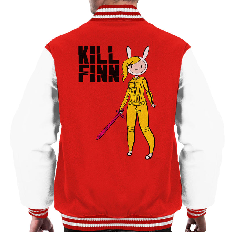 Kill Finn Adventure Time Kill Bill Men's Varsity Jacket