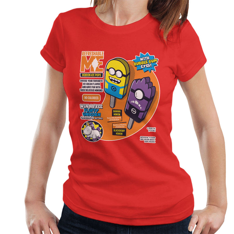 Refreshable Minion Ice Pops Women's T-Shirt