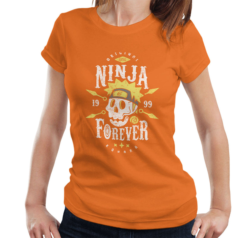 Ninja Forever Naruto Women's T-Shirt by Olipop - Cloud City 7