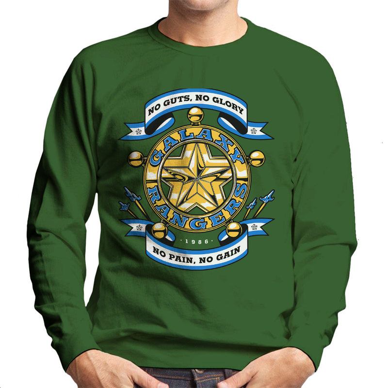 No Guts No Glory The Adventures of the Galaxy Rangers Men's Sweatshirt by Olipop - Cloud City 7