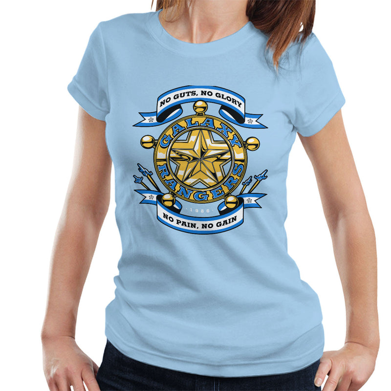 No Guts No Glory The Adventures of the Galaxy Rangers Women's T-Shirt by Olipop - Cloud City 7