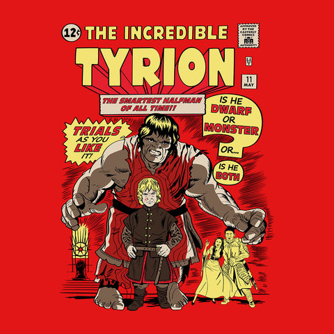 The Incredible Imp Tyrion Lannister Game Of Thrones