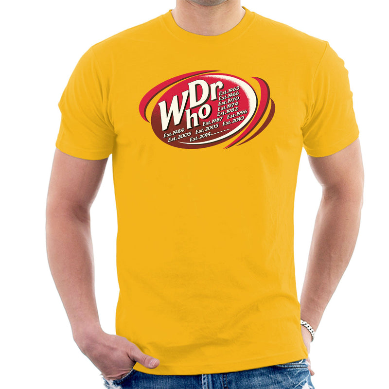 Dr WHO Dr Pepper Doctor Who BBC Men's T-Shirt by MacXi - Cloud City 7