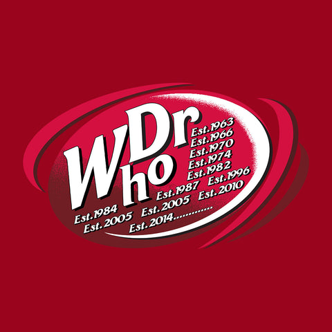 Dr WHO Dr Pepper Doctor Who BBC