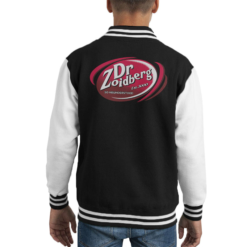Dr Zoidberg So Misunderstood Dr Pepper Kid's Varsity Jacket by MacXi - Cloud City 7