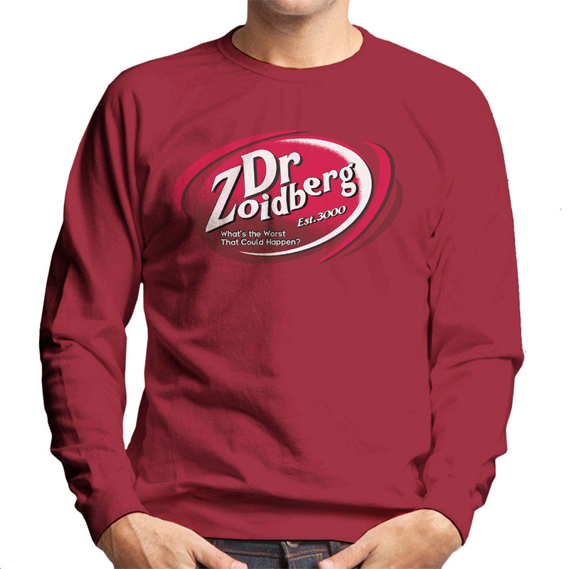Dr Zoidberg Whats The Worst Dr Pepper Men's Sweatshirt