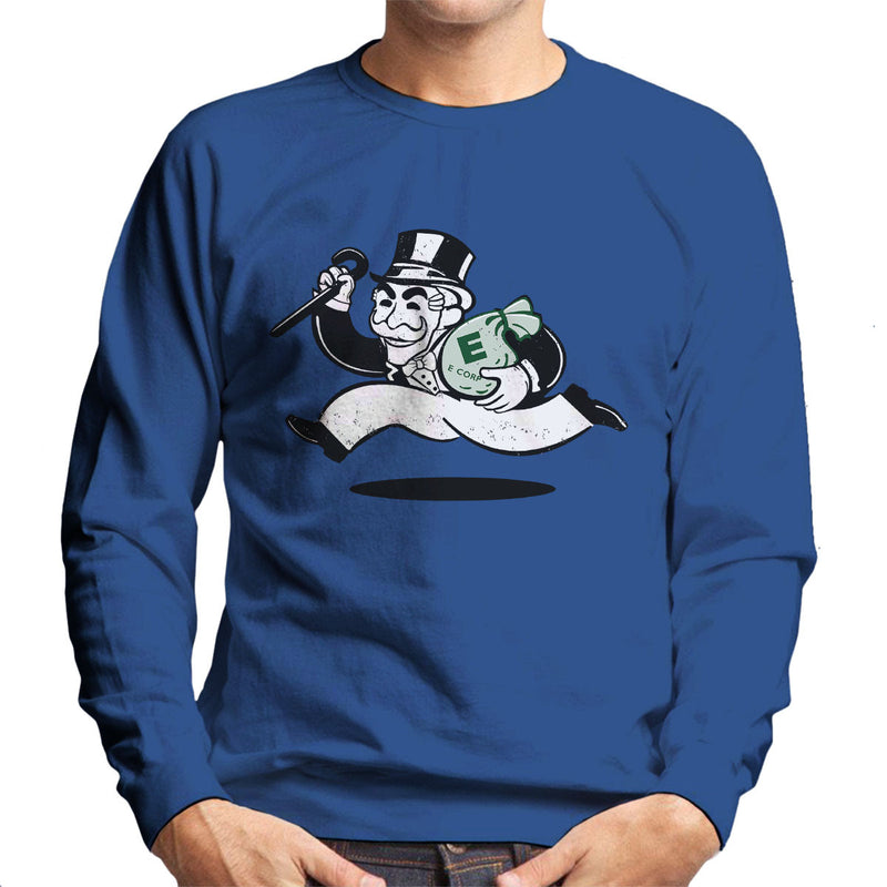 Mr Robot Fsociety Grey And Green Men's Sweatshirt by Samiel Art - Cloud City 7