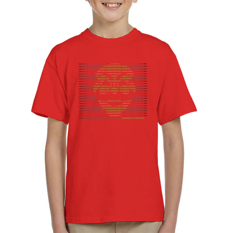 Mr Robot Hack The World Kid's T-Shirt by Samiel Art - Cloud City 7