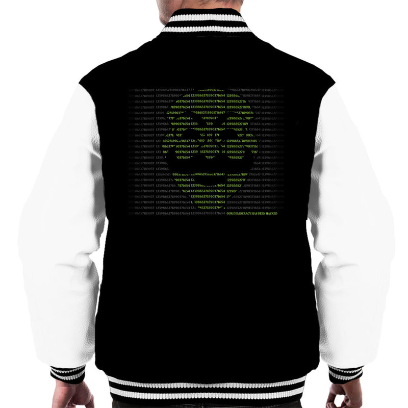 Mr Robot Hack The World Men's Varsity Jacket