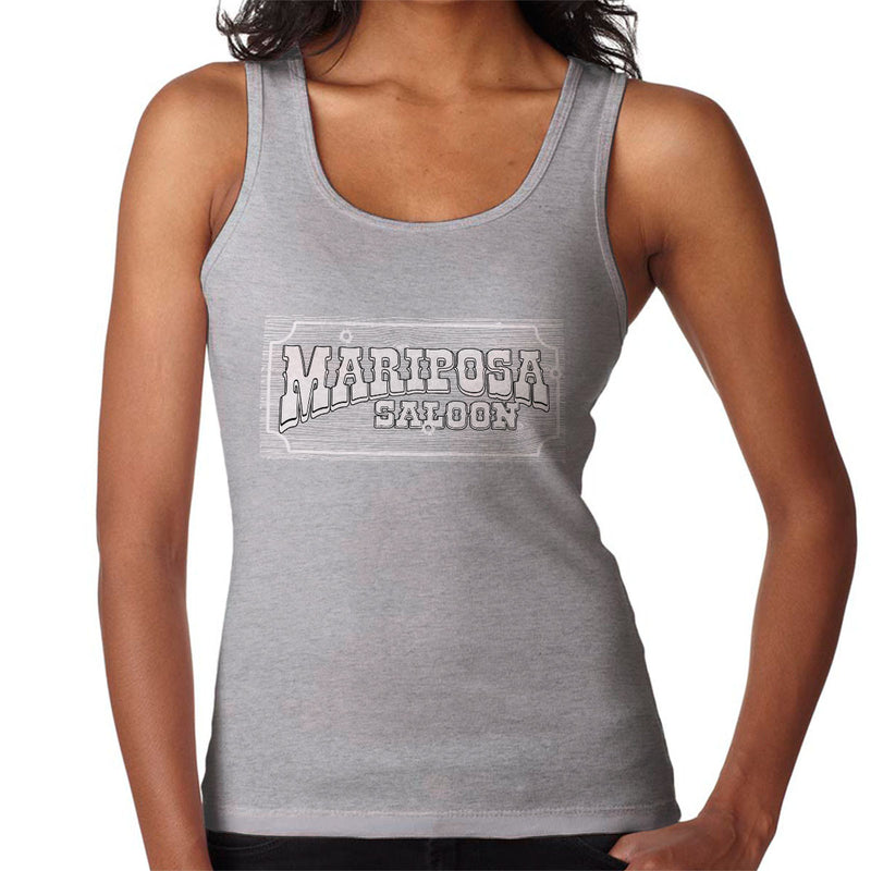 Mariposa Saloon Sweetwater Westworld White Women's Vest by Bevatron - Cloud City 7