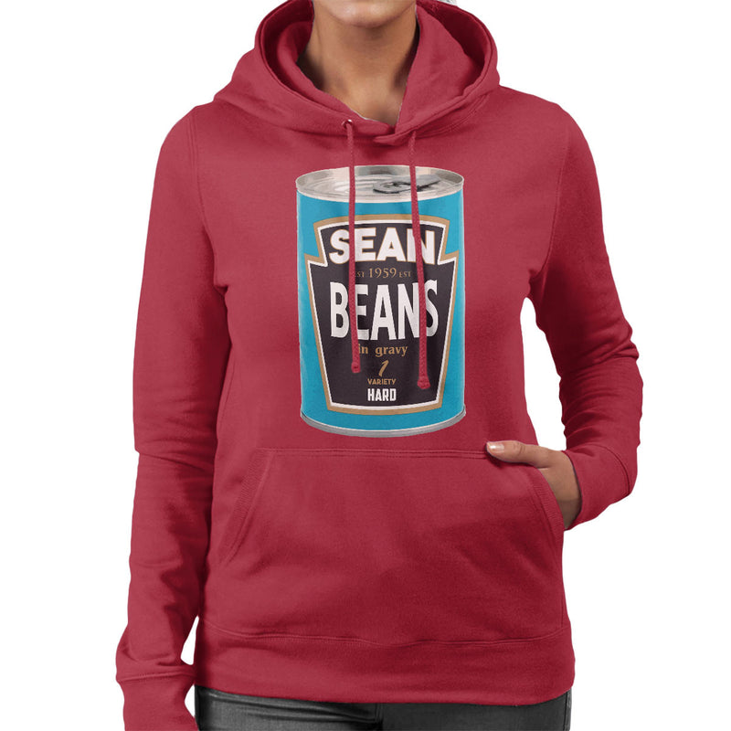 Sean Beans In Gravy 1 Variety Hard Women's Hooded Sweatshirt by Bevatron - Cloud City 7